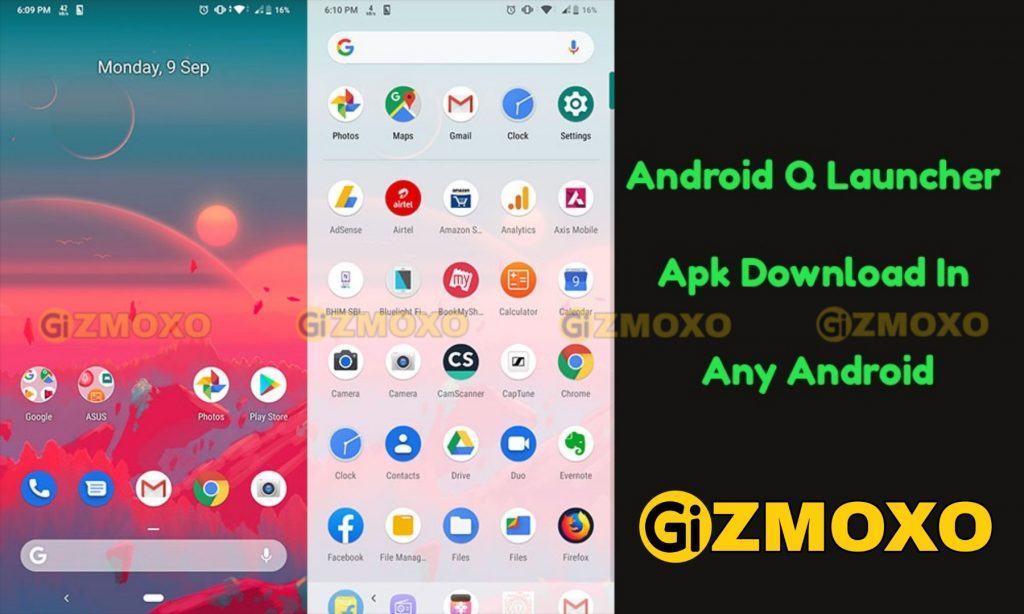 Android-Q-Launcher-Apk
