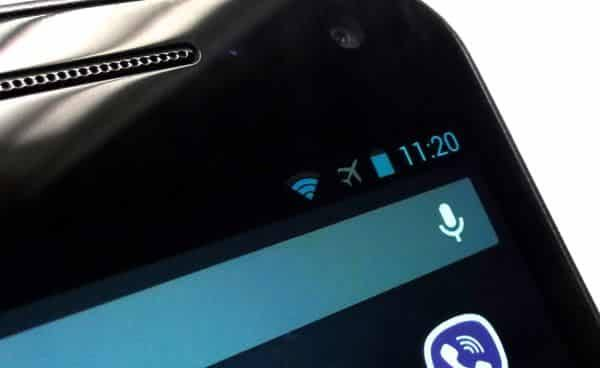 Airplane mode: Fix slow charging on Android