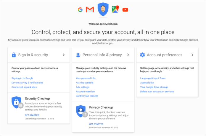 how do i remove a device from my google account