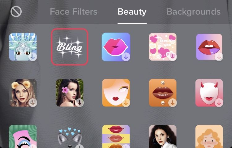How to Get The Bling Effect on Tiktok