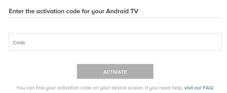 Activate CBS Sports On Android TV