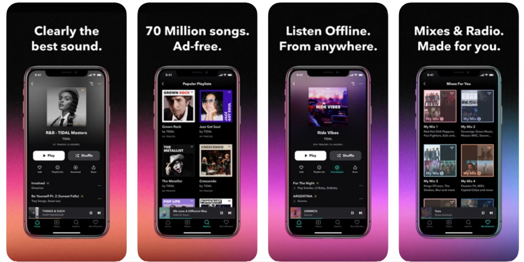 wifi less music apps