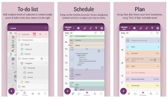 Time Planner for android